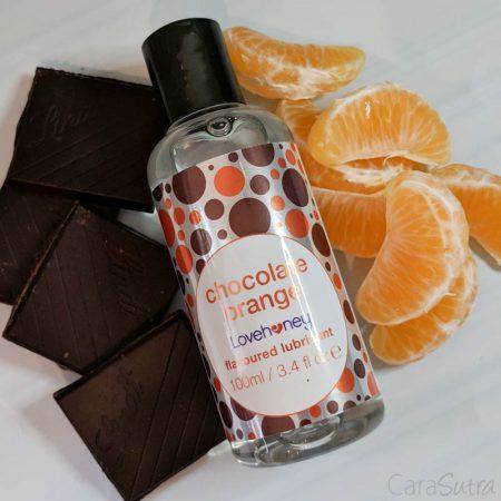 Lovehoney Chocolate Orange Flavoured Lubricant Review