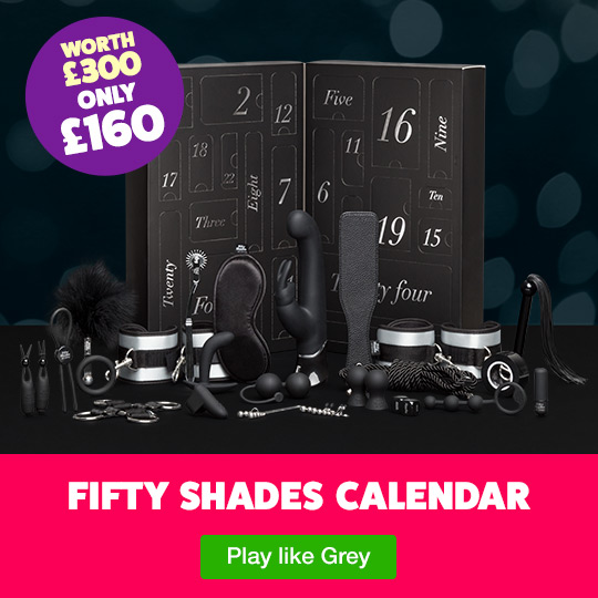 Lovehoney Fifty Shades of Grey Advent Calendar 2018