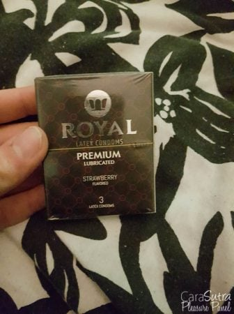 Royal Condoms Strawberry Flavour 3 Pack Review