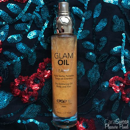 EXSENS Beauty Glam Oil Dry Glittering Body And Hair Oil Review