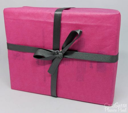 gift wrapped sex toy box