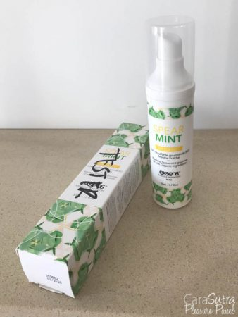 EXSENS Warming Organic Spearmint Flavour Gourmet Massage Oil 50ml Review