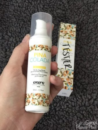 EXSENS Warming Pina Colada Flavour Gourmet Massage Oil Review