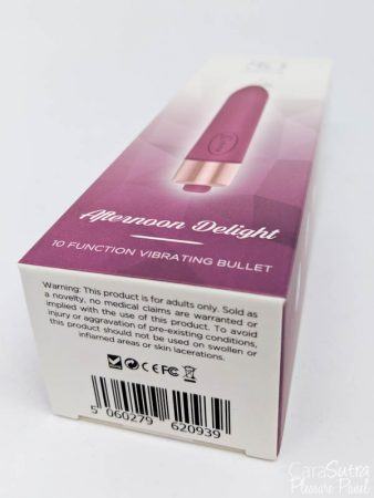 So Divine Afternoon Delight Bullet Vibrator review
