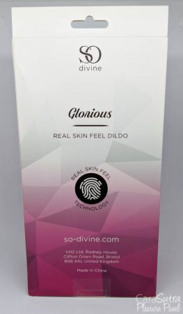 So Divine Glorious Real Skin Feel Pink Silicone Dildo Review