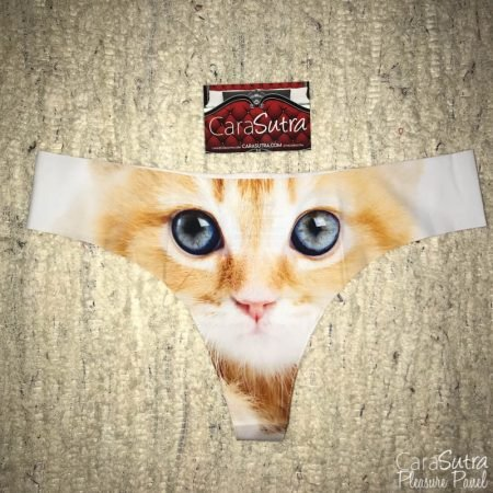 Shinesty Call Me Kitty Cat Thong Large Review