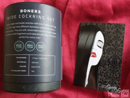 Boners Liquid Silicone Wide Cock Ring Set Review