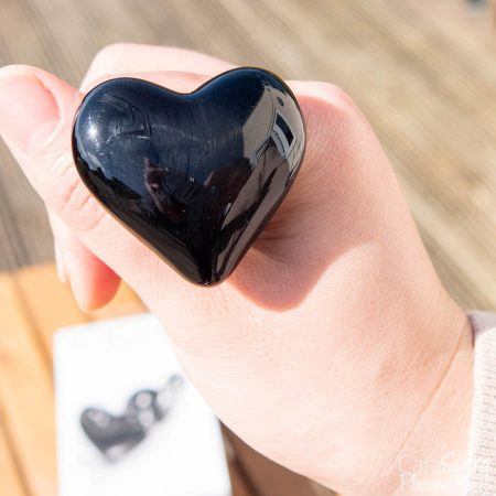 Icicles No 74 Black Glass Heart Shaped Butt Plug Review
