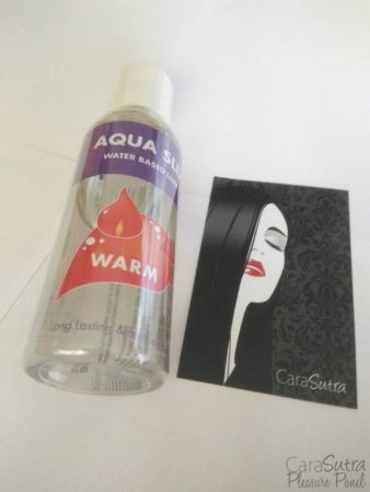Kinx Aqua Slix Warming Water-Based Lubricant Review