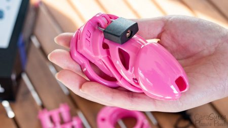 Locked In Lust The Vice Standard Pink Chastity Device Review