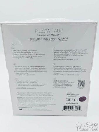 BMS Factory PowerBullet Pillow Talk Racy G-Spot Vibrator Review