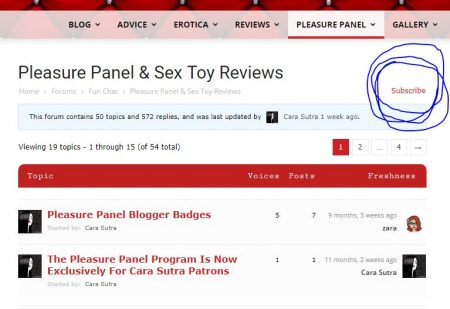 How To Become A Pleasure Panel Reviewer