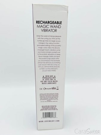 Loving Joy VITARechargeable Wand Vibrator Review
