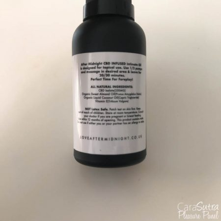 After Midnight Scream CBD Lube Review
