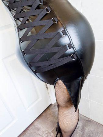 Lovehoney Fierce Leather-Look Bodycon Dress Review