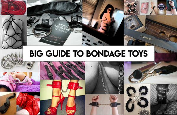 Big Guide To Bondage Sex Toys, & Our Bondage Sex Toy Reviews
