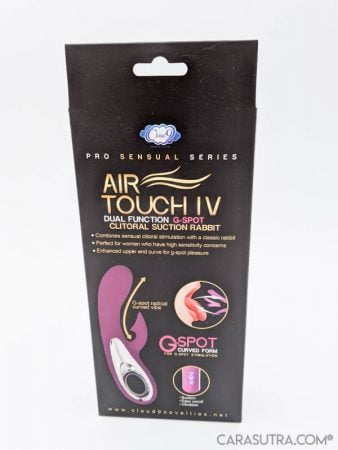 Cloud 9 Pro Sensual Air Touch 4 Clitoral Suction Rabbit Vibrator Review