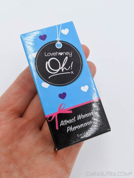 Lovehoney Oh! Attract Women Pheromone Scent Rollerball Review