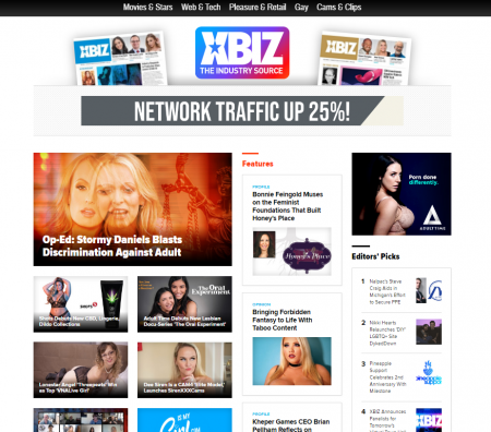 Everything XBIZ: Magazines, Websites, Shows & Awards Info
