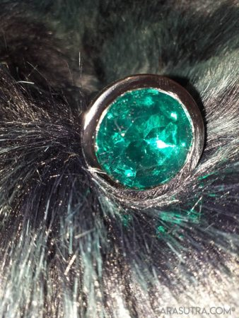 Maison Du Plug Green Jewel Stainless Steel Beaded Butt Plug Review