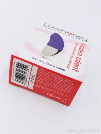 Lovehoney Hidden Talent Rechargeable Knicker Vibrator Review