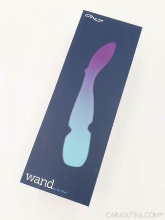 We-Vibe Wand Vibrator Review - Super Smart, App-Controlled Wand Vibe