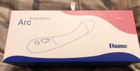 Dame Arc Rechargeable Silicone G-Spot Vibrator Review