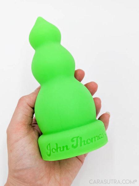 John Thomas The Buxom Lady Neon Green Silicone Dildo Review